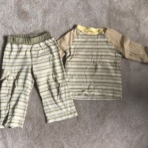 Top and pants from Tea